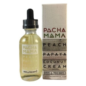 Pacha Mama - Peach Papaya Cocounut Cream - 60ml