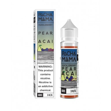 Pacha Mama - Huckleberry Pear Acai - 60ml