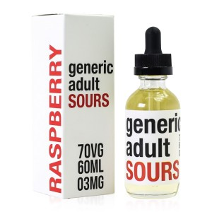 Generic Adult Sours - Raspberry - 60ml