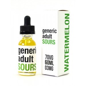 Generic Adult Sours - Watermelon - 60ml