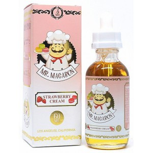 Mr. Macaron - Strawberry Cream 60ml