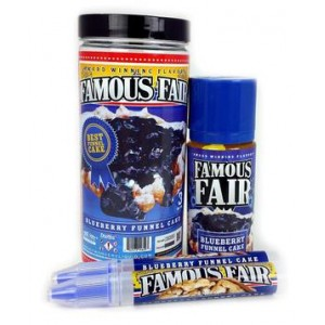 Famous Fair - Blueberry Funnnel Cake 100ml