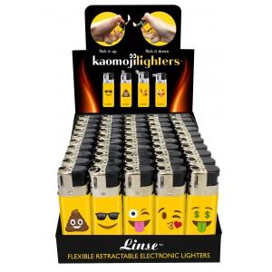 Kaomoji Lighters - 50ct Display