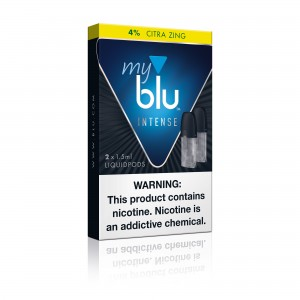MyBLU Citra Zing Intense Pods (5ct Box)