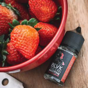 BLVK Unicorn - Strawberry Nicotine Salt 30ml
