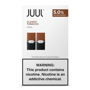Juul Pods - 2-pack Classic Tobacco 5% 8ct box