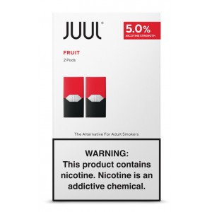 COMING SOON  Juul Pods - 2-pack Fruit Medley 5% 8ct box