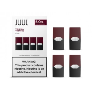 Juul Pods - Virginia Tobacco 5% 8ct box