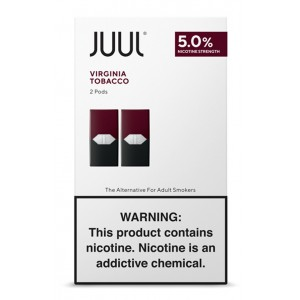 Juul Pods - 2-pack Virginia Tobacco 5% 8ct box