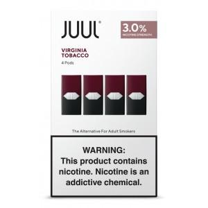 COMING SOON Juul Pods - Virginia Tobacco 3% 8ct box