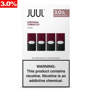 Juul Pods - Virginia Tobacco 3% 8ct box