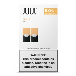 COMING SOON  Juul Pods - 2-pack Creme Bruule 5% 8ct box