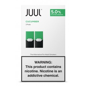 COMING SOON Juul Pods - 2-pack Cool Cucumber 5% 8ct box