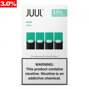 COMING SOON Juul Pods - Cool Mint 3% 8ct box