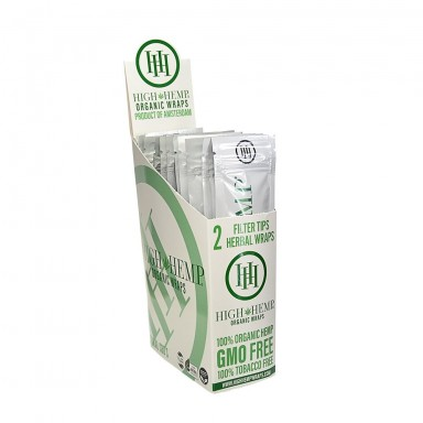High Hemp Organic Hemp Wraps - 25ct Box