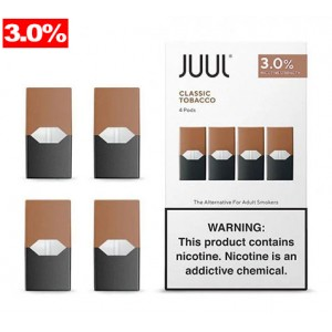 Juul Pods - Classic Tobacco 3% 8ct box