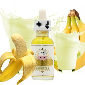 Moo - Banana Milk - 30ml