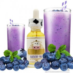 Moo - Blueberry Milk - 30ml
