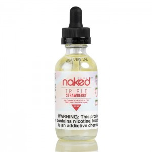 Naked - Triple Strawberry - 60ML