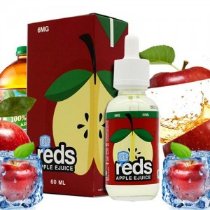 Reds Apple Iced E-Juice by Vape 7 Daze 60mL