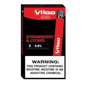 Viigo Strawberry & Lychee (8ct display box)