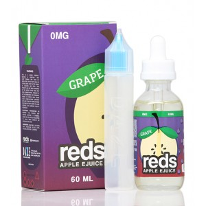 Reds Grape Apple E-Juice by Vape 7 Daze 60mL