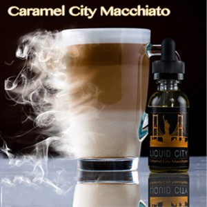 Liquid City - Caramel City Macchiato 30ML